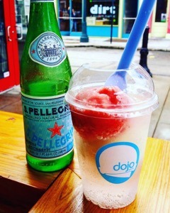 Stiletto beverage, photo from Dojo Gelato Facebook page
