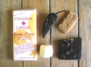 Smoking S'more Bar, photo courtesy of Chocolats Latour