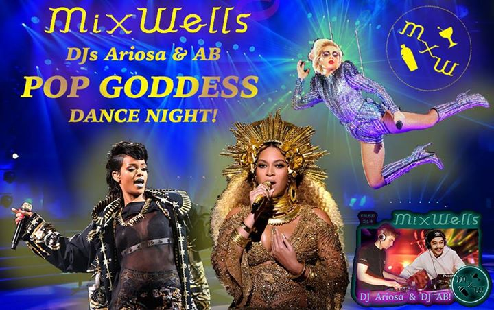 Pop Goddess Dance night with DJs AB & Peter Ariosa! Free