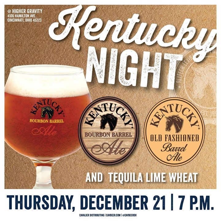 KY Bourbon Barrel Pint Night – Ugly Christmas Sweater Party ...