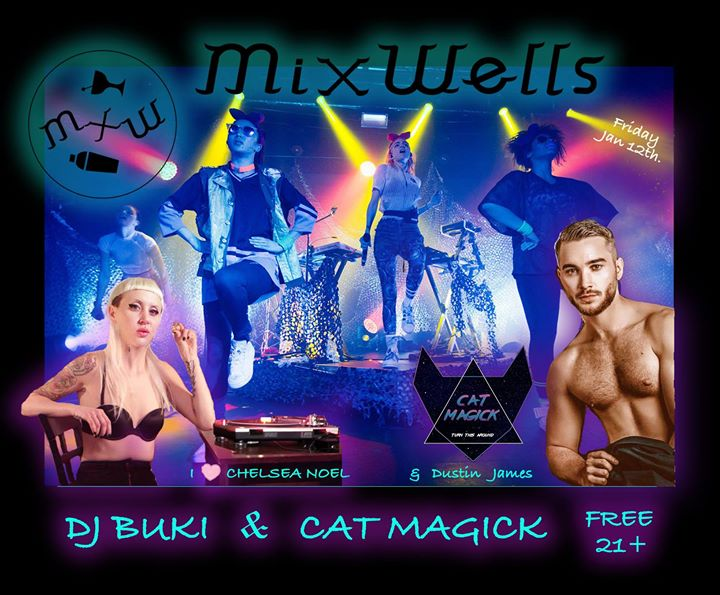 DJ BUKI & Cat Magick Dance & Song Drop Debut Synth Electric POP