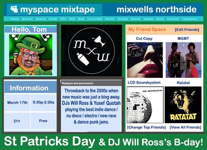 St Pattys Day Dance Myspace mixtape w/ DJs Will Ross & Yusef