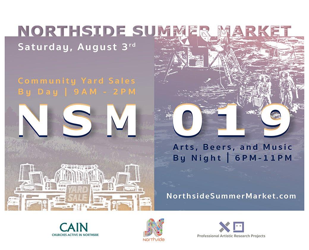 Northside Summer Market 8/3/19 + World's Longest Yard Sale